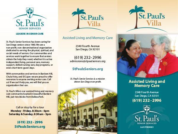 St. Paul's Senior Services St. Paul's Villa