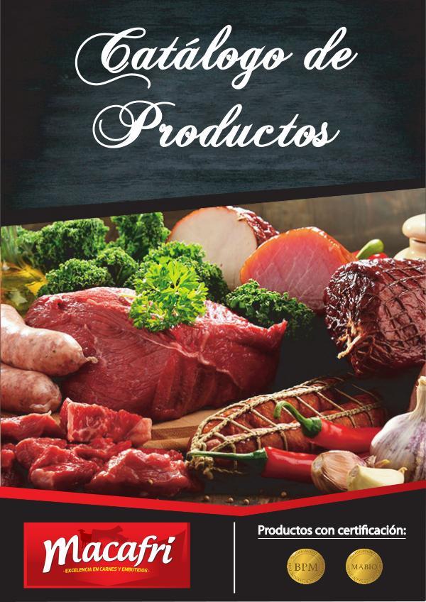 Catálogo de Productos Macafri Catalogo Presentacion Carnes_1
