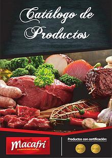 Catálogo de Productos Macafri