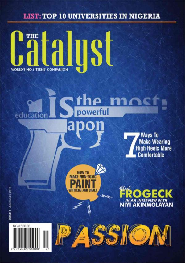 The Catalyst Lite The Catalyst - Issue 1