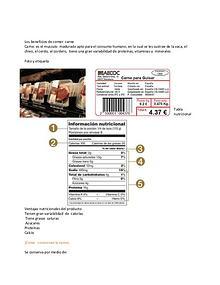tips  sobre el alimento que mas consumimos¡ la carne¡
