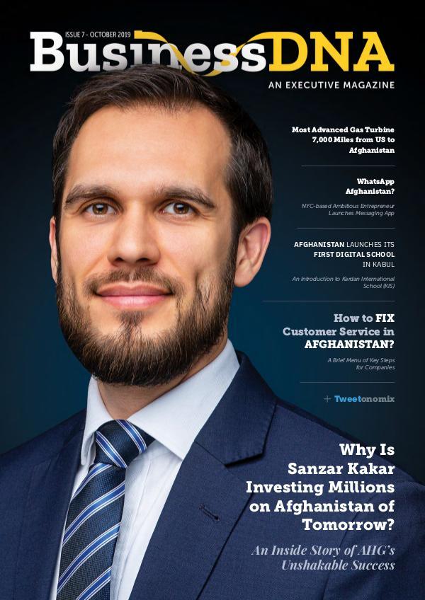 BusinessDNA - Magazine Issue 7 - OCT 2019