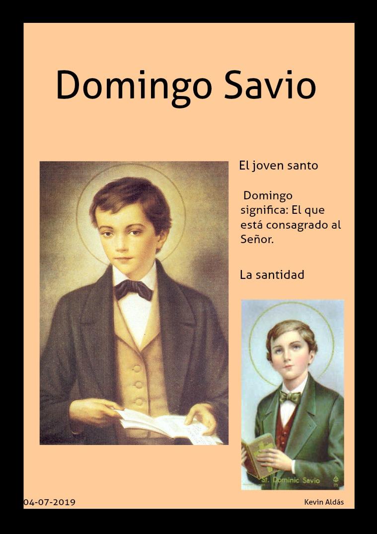 El estado físico Santo Domingo Savio