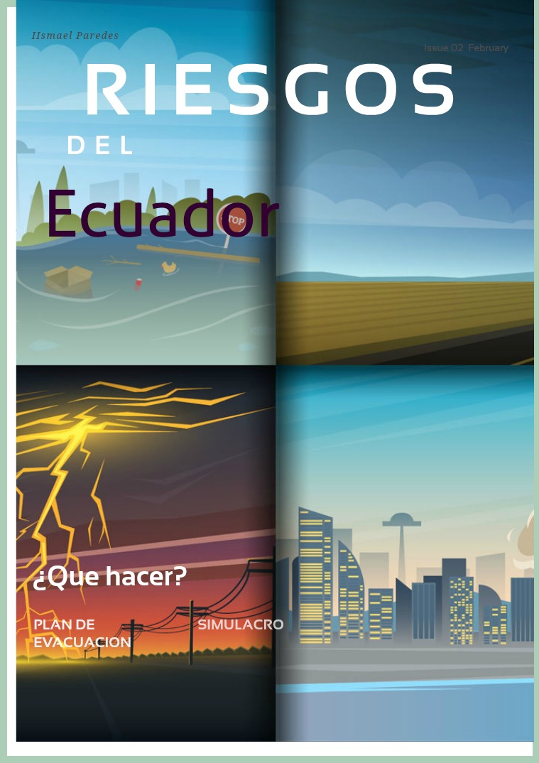 Riesgos del Ecuador RIESGOS DEL ECUADOR