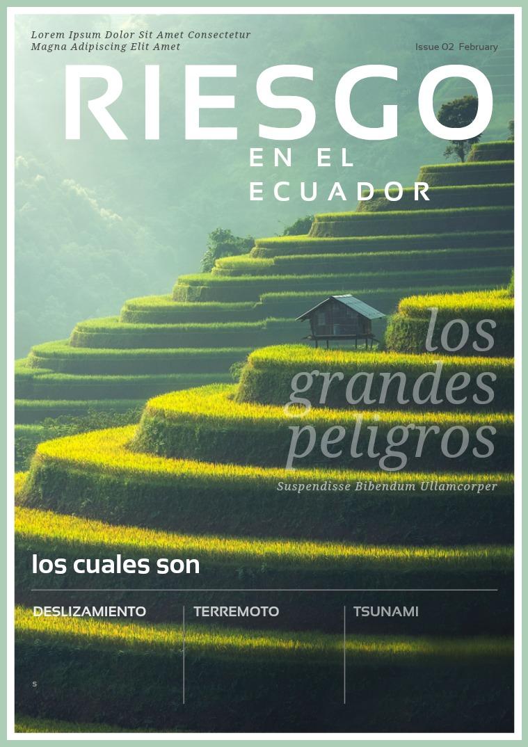 RIESGOS EN EL ECUADOR RIESGOS