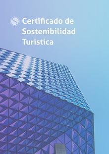 Certificado de Sostenibilidad Turistica