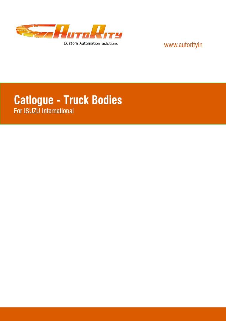 Truck Body Fabrication 01