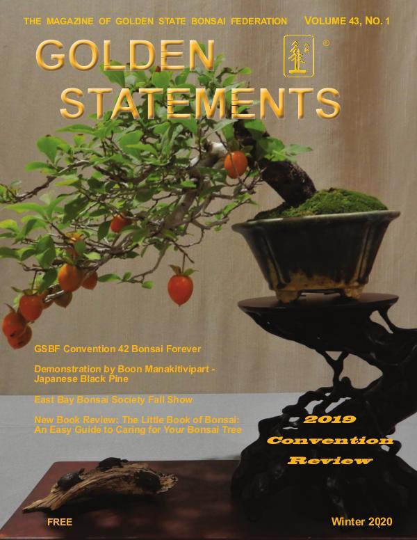 Golden Statements Magazine Winter Issue 2020