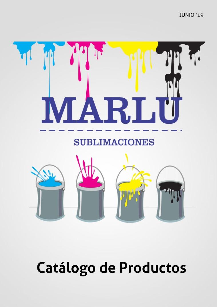 Catálogo 2019 . Sublimaciones Marlu