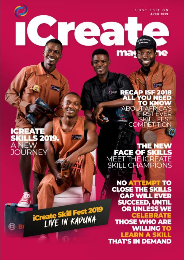 iCreate magazine volume 1