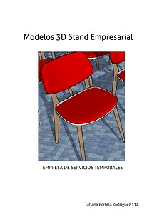 Modelos 3D Para el Stand Empresarial