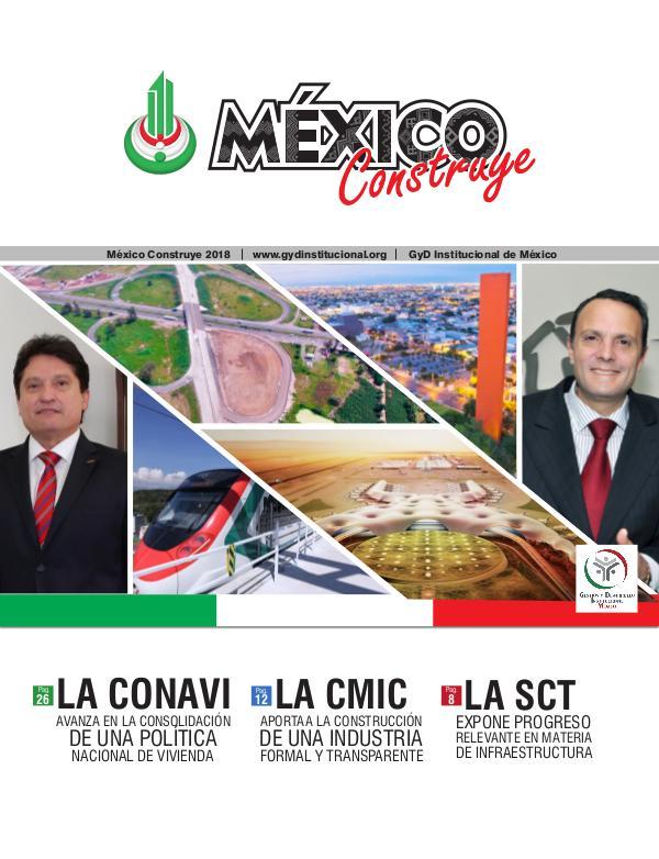 REVISTA MÉXICO CONSTRUYE 2018 Revista México Construye 2018