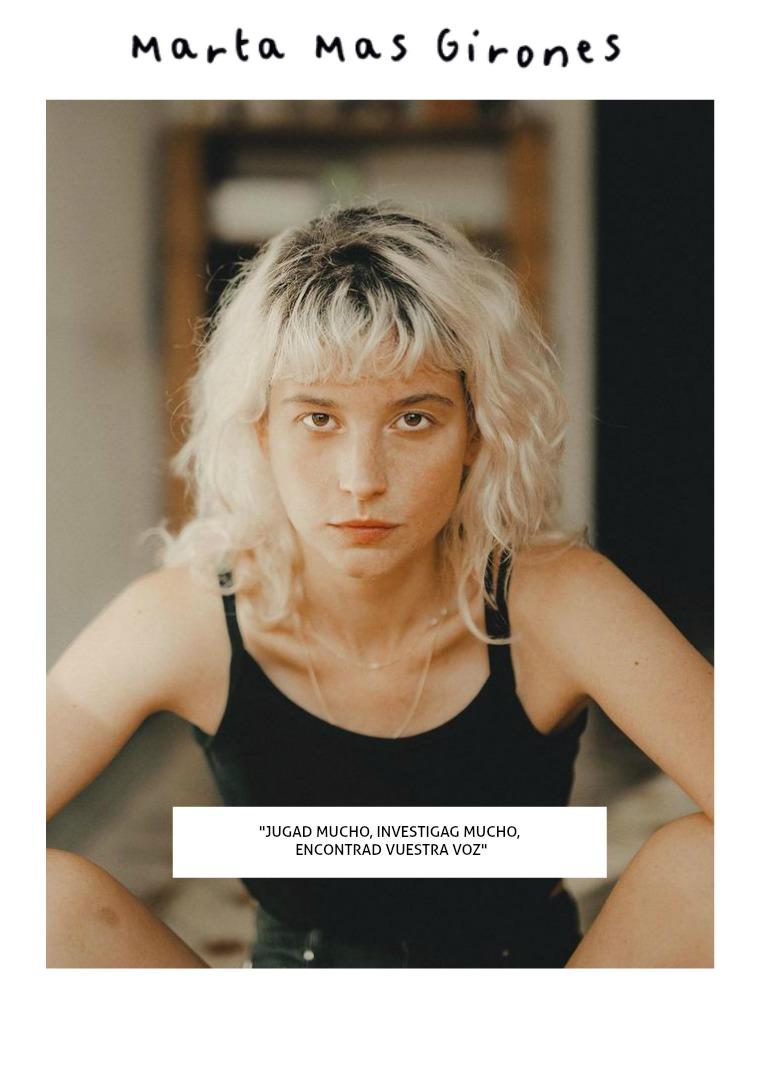 Mel sobreviviendo Edición Nº 2: Marta Mas Girones