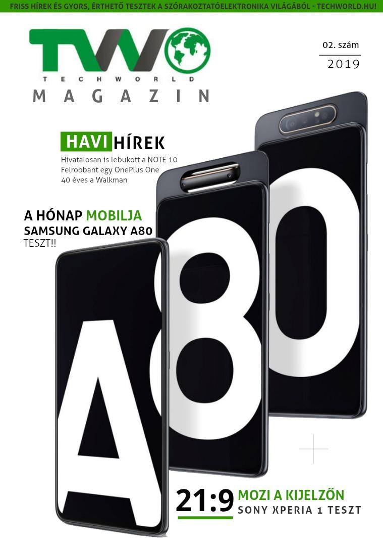 TechWorld magazin 02. 2019