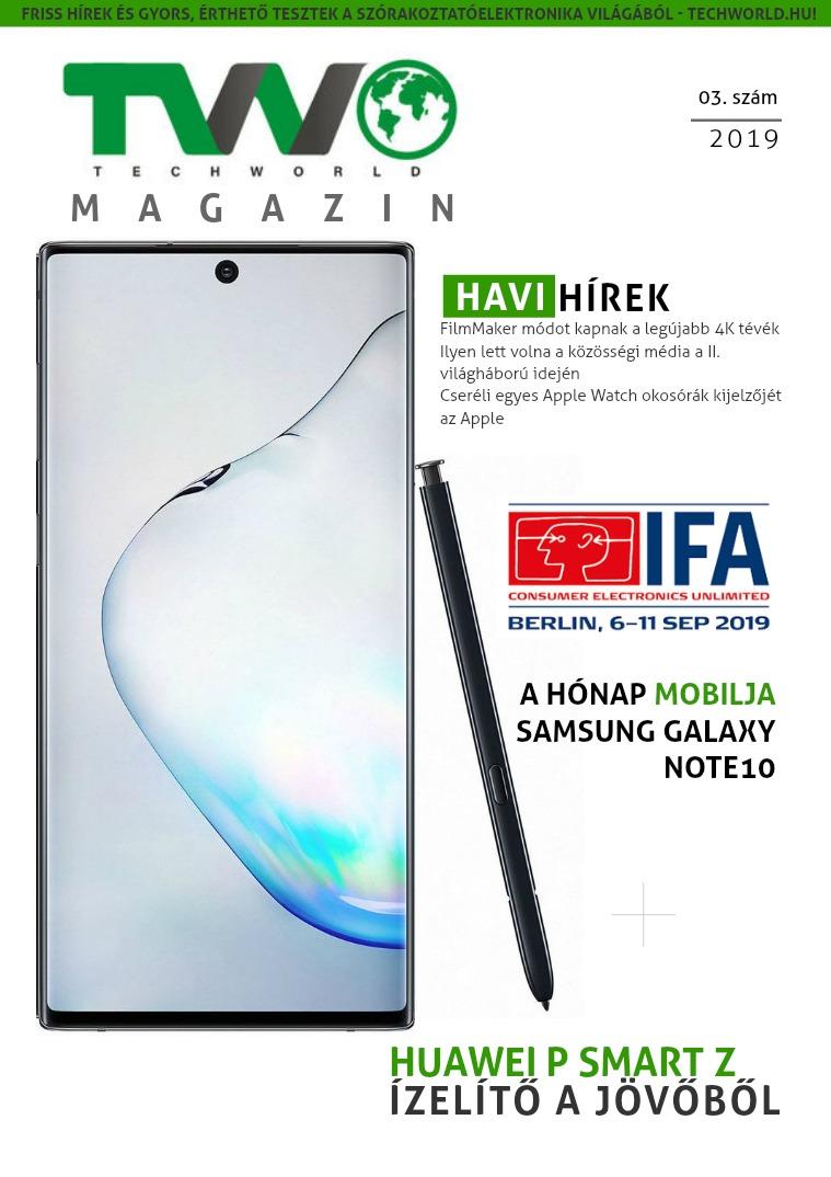 TechWorld magazin 03. 2019