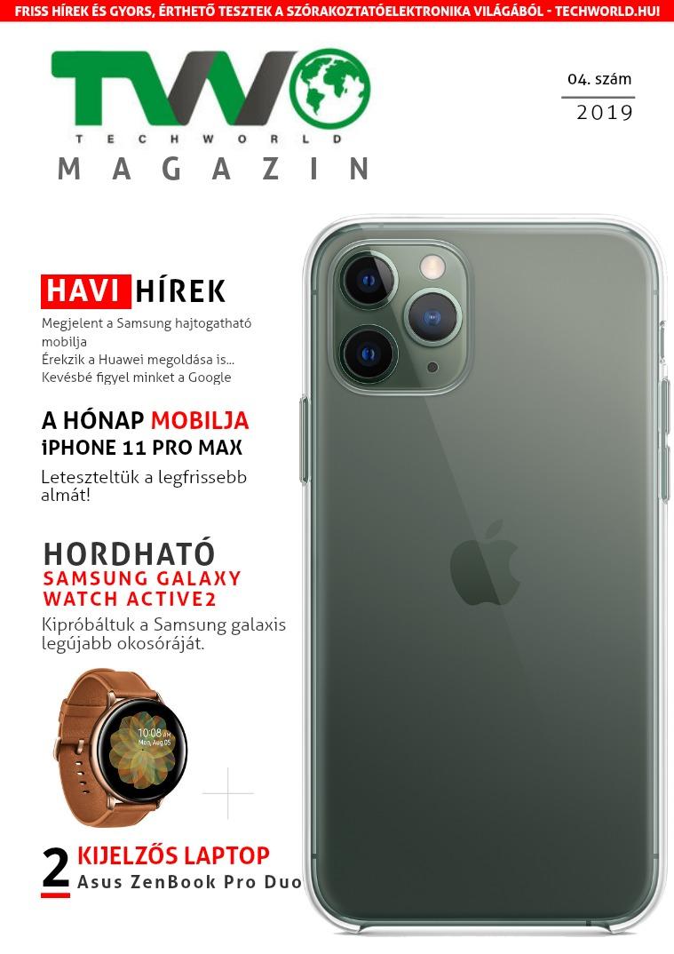 TechWorld magazin 04. 2019