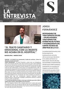 Entrevista a Jordi Fernández