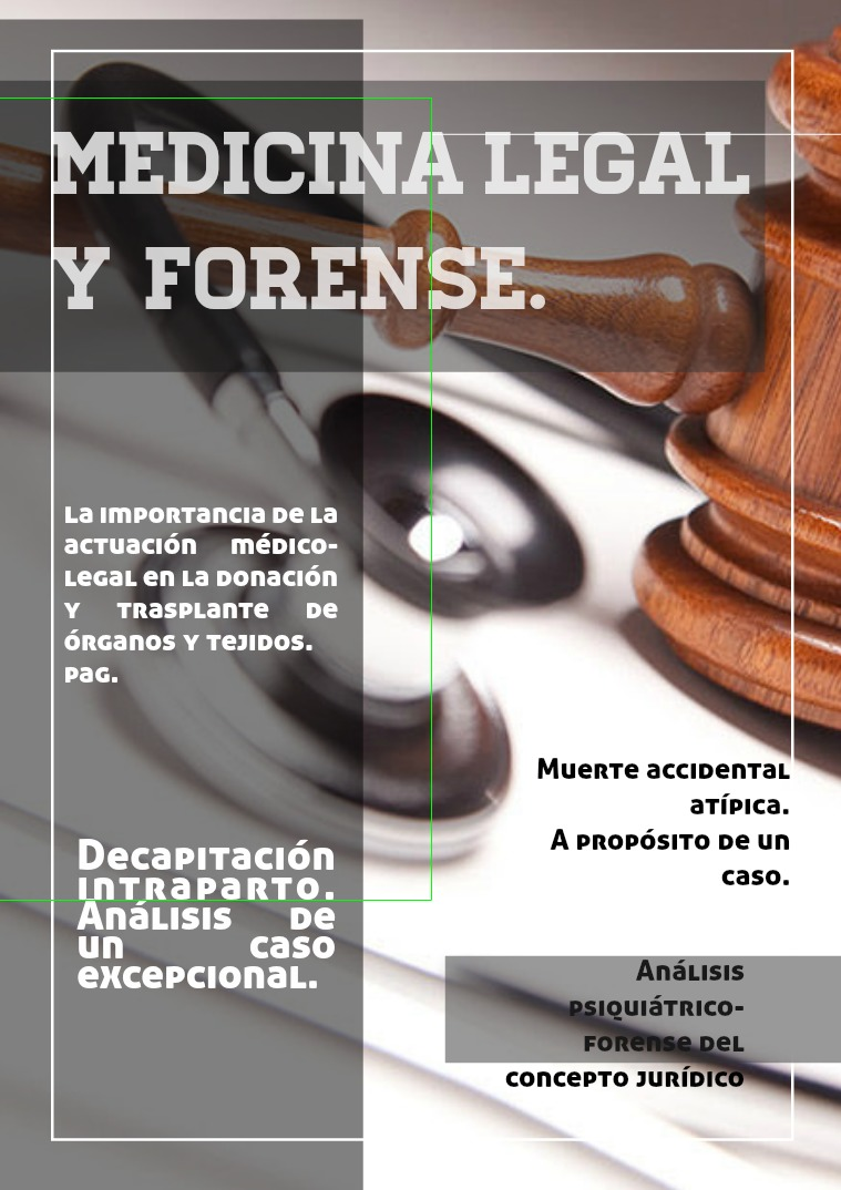 Medicina legal y forense Medicina legal y forense