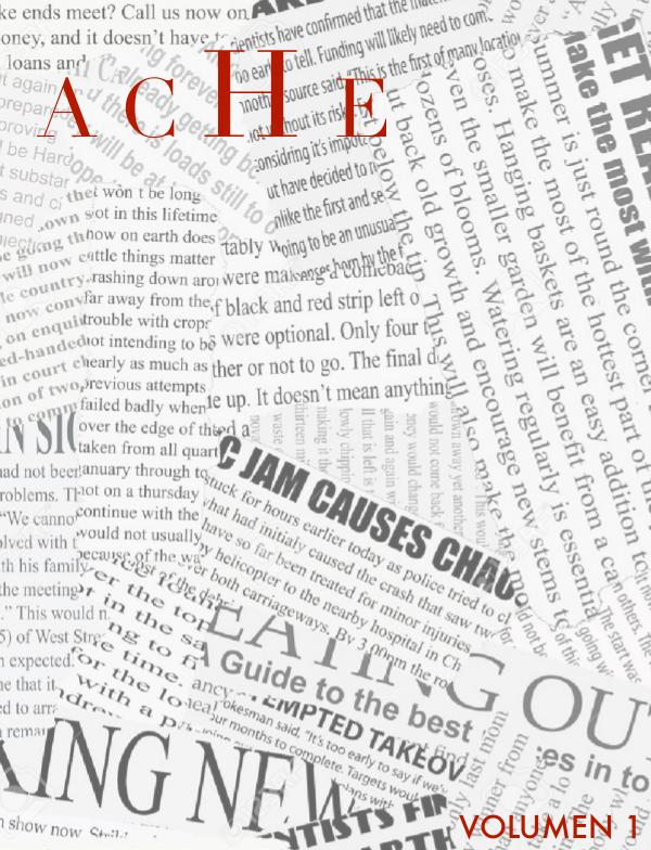 Revista ACHE Vol. 1