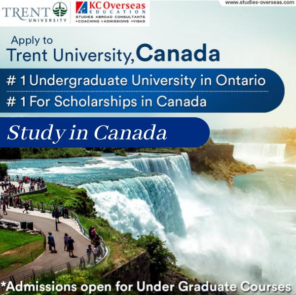Trent University, Canada – One of the Top University in the World Trent University - Canada