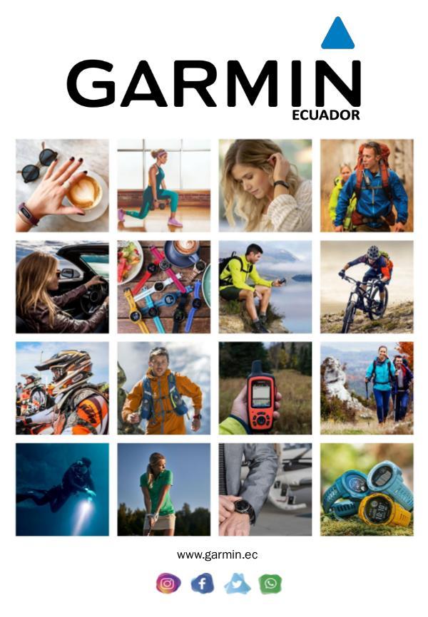 CATÁLOGO GARMIN - 2020 CATÁLOGO 2020