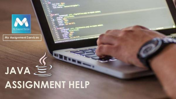 My Assignment Services JAVA ASSIGNMENT HELP