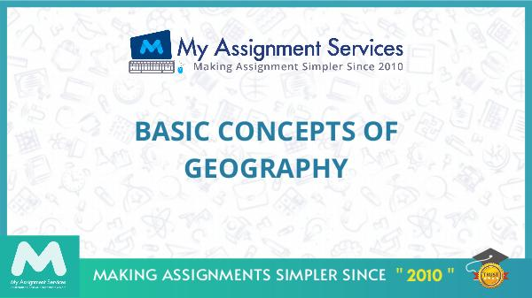 Basic Concepts Of Geography