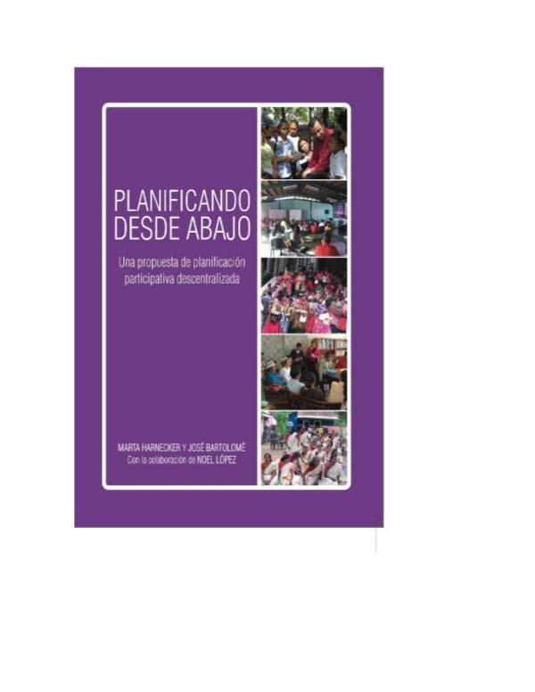 PLANIFICACIÓN PARTICIPATIVA planeacion participativa