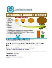 Global Melanoma Cancer Market, Global Market Size, Forecast 2018-2023
