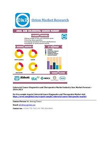 Colorectal Cancer Diagnostics and Therapeutics Market