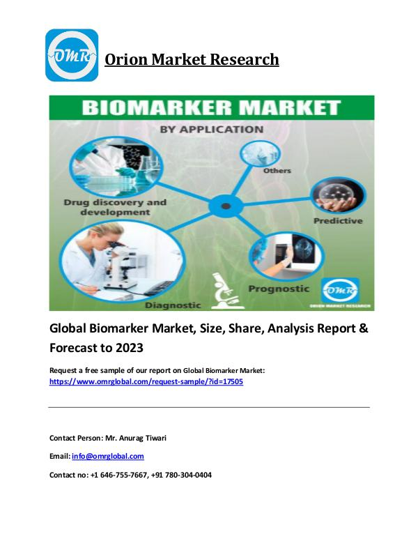 Automotive tire market Industry Size, Growth & Forecast to 2023 Global Biomarker Market pdf file