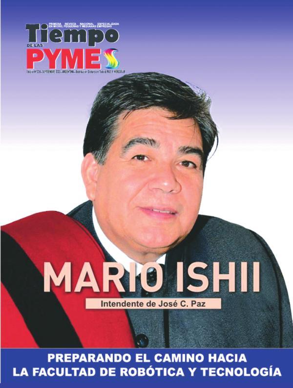 TiempoPyme, Mario Ishii