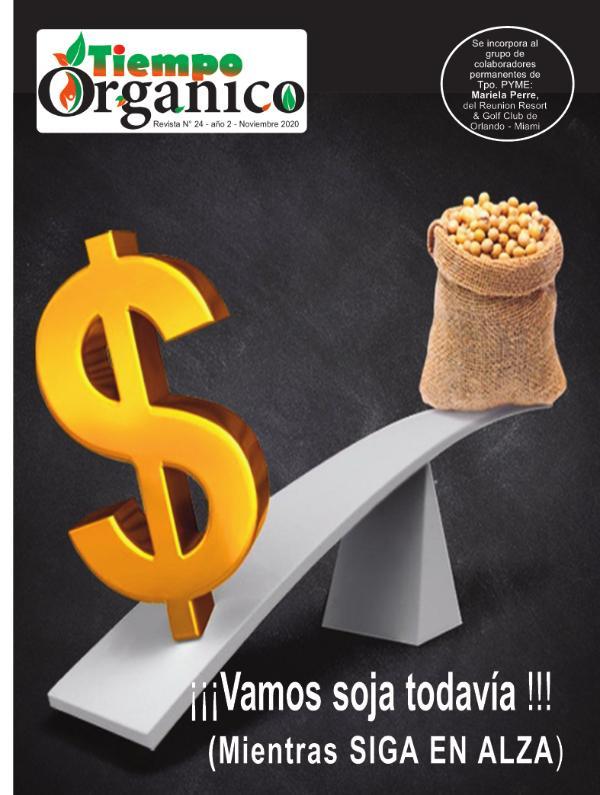 Revista TiempoOrgánico Nº 24