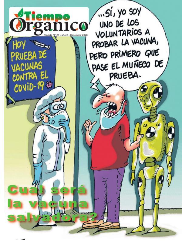 Revista TiempoOrgánico Nº 25