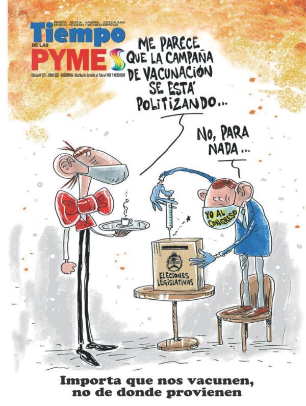 Revista TiempoPyme Nº 215