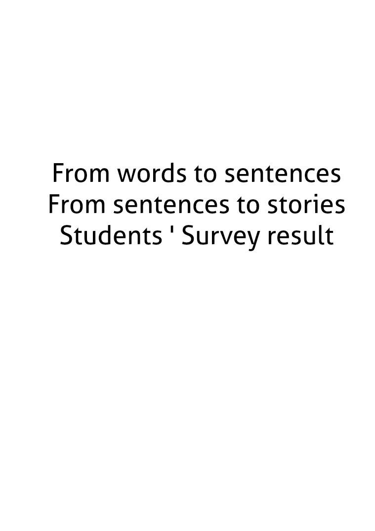 From Words To Sentences From words to sentences