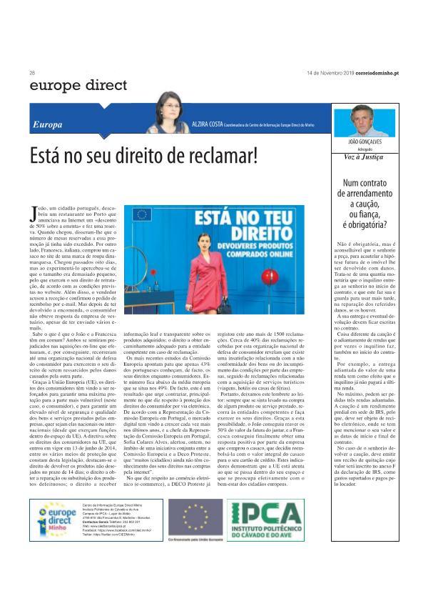 artigo opiniao 14 nov artigo 14 nov - correio do minho