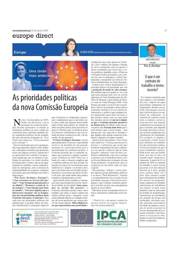 Artigo opinião 23 jan artigo opiniao 23 jan