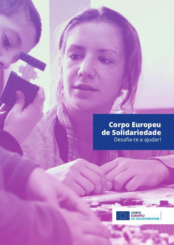 Corpo Europeu de Solidariedade - Brochura 2019 CIED_Brochura_final