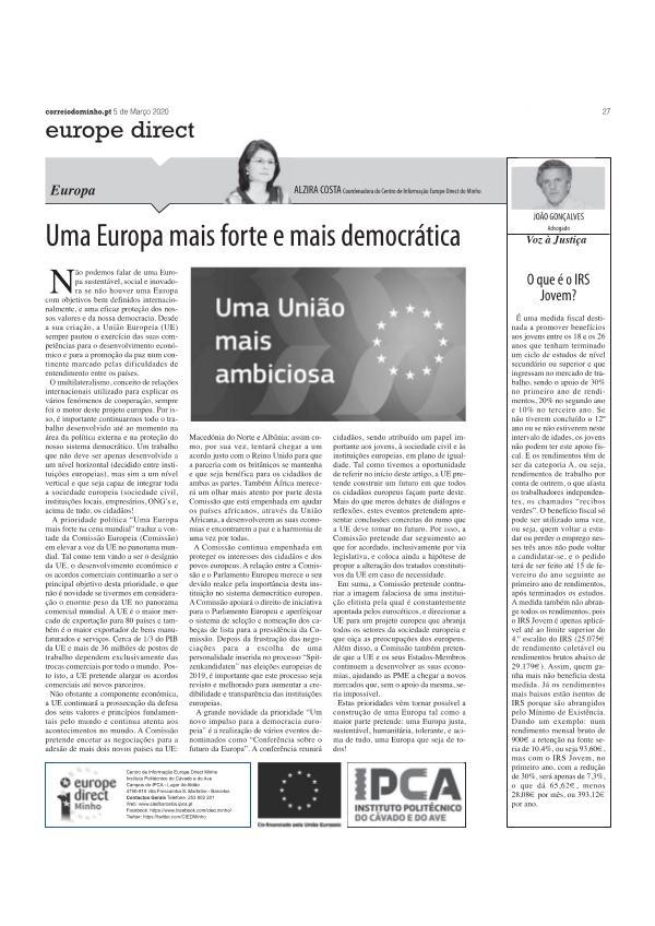 artigo opiniao - 5 mar .artigo opiniao - 5 mar