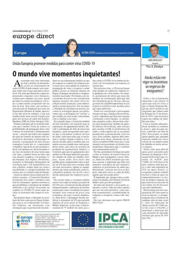 artigo opiniao - 19 março artigo opiniao 19 mar