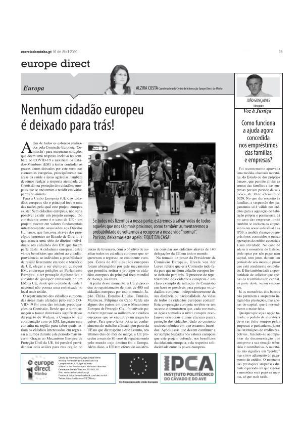 artigo de opinião 12 abril artigo opiniao 16 abr