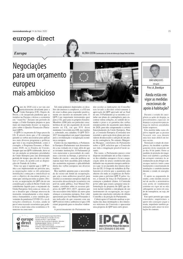 artigo 14 maio flash informativa 14 maio