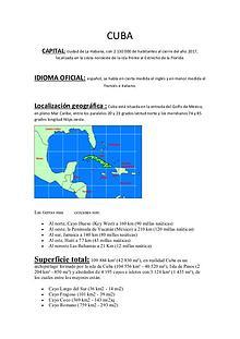 Todo lo que tenes que saber de Cuba