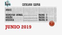 Catalogo Kapra Junio 2019