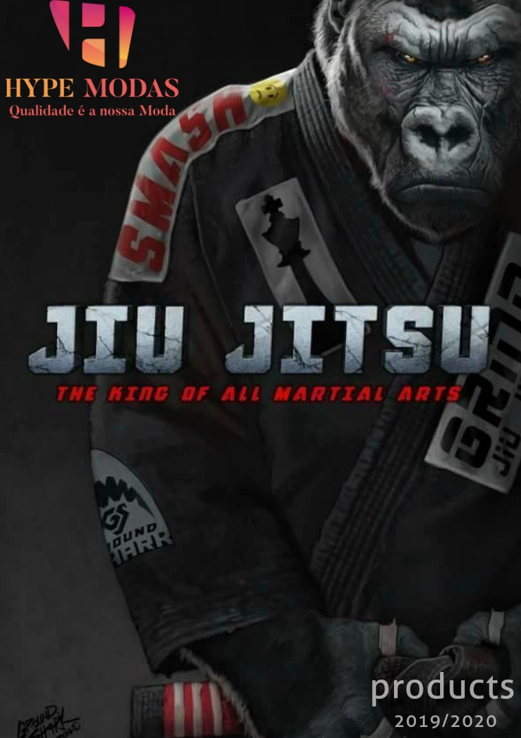 catálogo Jiu-Jitsu 2019/2020 Hype Modas 1