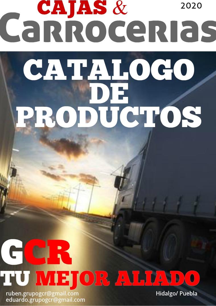 Catalogo GCR Catalogo GCR PRO