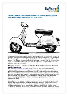 India Electric Two-Wheeler Market by Technology,Industry Updates 2025
