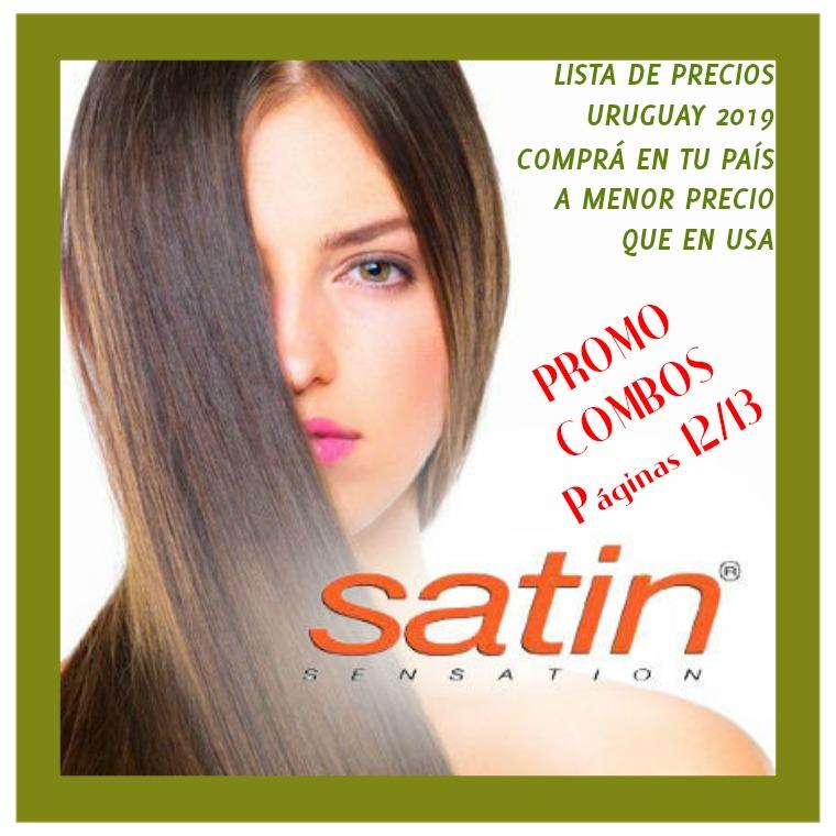 Catálogo Satin Sensation Uruguay, catálogo de productos 2019