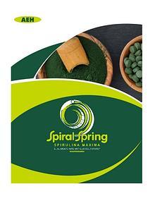 Catalogo Espirulina Spiral GDL